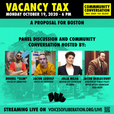 Vacancy Tax: A Proposal for Boston