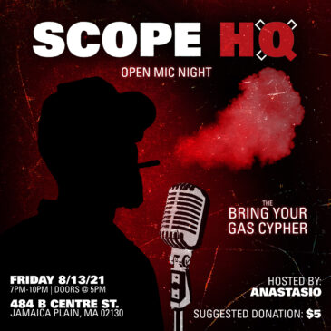 Open Mic: Bring your Gas Cypher